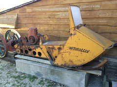 Polaris Autoboggan (AdolfGalland) Tags: canada manitoba snowmobile polaris rosser autoboggan