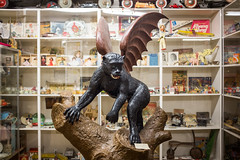 Miracle of American Museum (flippers) Tags: old usa museum america vintage toys monkey weird us montana unitedstates retro american demon devil oldfashioned polson wingedmonkey miracleofamericanmuseum