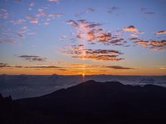 Haleakal summit sunrise (xalicia) Tags: sunrise maui haleakala