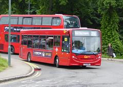 GAL SE199 - YY14WDU - SIDCUP QM HOSPITAL - MON 13TH JUNE 2016 (Bexleybus) Tags: london ahead hospital kent go central queen route 200 marys dennis enviro tfl adl sidcup 286 goahead se199 yy14wdu