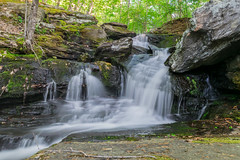 Super Shower (tquist24) Tags: longexposure trees water creek geotagged outdoors waterfall nikon rocks stream unitedstates outdoor connecticut brook easthampton tartiafalls safstrombrook engelfalls nikond5300