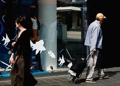 Lijnbaan, Rotterdam. 2016 (Caio Vita) Tags: street light netherlands photography rotterdam shadows streetphotography fujifilm xt10 fujifilmx