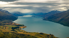 Lake Te Anau. South Island, New Zealand (LKungJr) Tags: newzealand lake fiordland laketeanau glaciallake