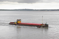 'Panary' Eastham Ferry 14th June 2016 (John Eyres) Tags: veteran grain barge panary built 1936 seen passing eastham ferry inbound for runcorn docks manchester ship canal 140616