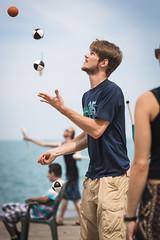 DI3I3356 (SauceyJack) Tags: chicago beach june illinois saturday il juggling juggle juggler oakstreetbeach lrcc 7020028isiil sauceyjack lightroomcc canon1dxmarkii canon1dxmark2 oakstreetbeachjugglers