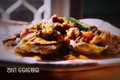 Brinajal Curry (rajeswar mohanty) Tags: brinjal indianfood foodphoto