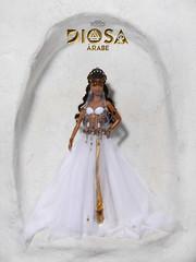 Alilat. Diosa rabe (Arab Goddess) (davidbocci.es/refugiorosa) Tags: alilat diosa rabe arab goddess barbie mattel fashion doll mueca refugio rosa david bocci ooak