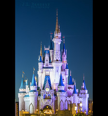Cinderella's Castle at Dusk- Disney's Magic Kingdom (J.L. Ramsaur Photography) Tags: nightphotography sunset sky castle architecture photography lights photo nikon florida dusk spires engineering bluesky pic disney disneyworld nighttime photograph thesouth bluehour orangecounty waltdisneyworld magical atnight magickingdom afterdark waltdisney engineeringasart centralflorida beautifulsky happiestplaceonearth 2016 imagineering lakebuenavistafl deepbluesky waltdisneyworldresort skyabove wheredreamscometrue ofandbyengineers cinderellascastle ibeauty allskyandclouds tennesseephotographer southernphotography screamofthephotographer engineeringisart jlrphotography photographyforgod disneysmagickingdom d7200 engineerswithcameras jlramsaurphotography nikond7200 cinderellascastleatdusk