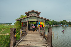 U Bein Bridge (ReinierVanOorsouw) Tags: reizen myanmar birma burma travelling travel travelstoke reiniervanoorsouw sony sonya7r sonya7rii a7rii asia asya azie mandelay mandalay