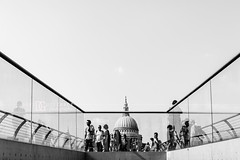 St Paul's Cathedral, London, UK (davidgutierrez.co.uk) Tags: london architecture city photography davidgutierrezphotography nikond810 nikon art urban blackandwhite blackwhite abstract londonphotographer color uk tatemodern tate photographer buildings england unitedkingdom  londyn    londres londra europe beautiful cityscape davidgutierrez capital structure britain greatbritain nikon2485mmf3545gedvrafsnikkor nikon2485mm d810 building street stpaulscathedral millenniumbridge black white monochrome blackandwhitephotography bw