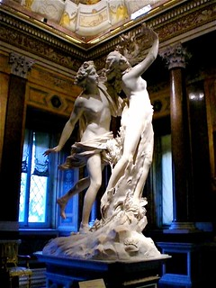 Bernini, Apollo and Daphne (Galleria Borghese)