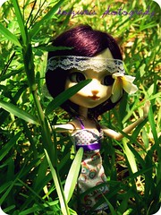 It's time to be a hippie >3< ( Kzum ) Tags: 3 love hippies doll peace kawaii pullip blythe kaela ardin mignonne myrtille taeyang