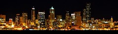 Shining City (Far) (sea turtle) Tags: seattle city light night lights evening downtown view westseattle shining