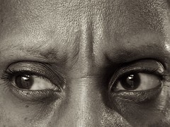 My Back Has Been Hurting All Day (A Life of Cyn) Tags: sepia eyes backache aselfportraitamonth mdpd2012 mdpd201204