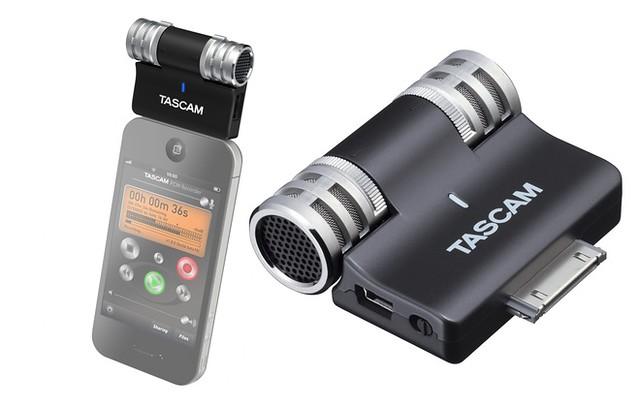 TASCAM iM2 苹果ipnone ipod ipad专用录音麦克风,专业品质$49.99