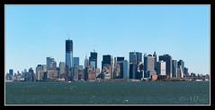 Lower Manhattan Skyline (marcofilzi) Tags: nyc newyorkcity sky panorama usa ny newyork skyline architecture skyscraper island nikon manhattan worldtradecenter panoramica photomerge wtc isola grattacieli lowermanhattanskyline d300s marcofilzi