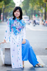 HuAoBl-149 (panerai87) Tags: jenny vietnam saigon traditionaldress aodai