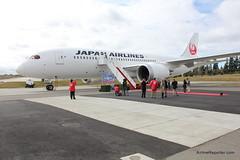 JAL Boeing 787 Dreamliner Delivery (AirlineReporter.com) Tags: flight future boeing jal japanairlines pae painefield kpae boeing787 boeing787dreamliner 787dreamliner 787delivery ja825j