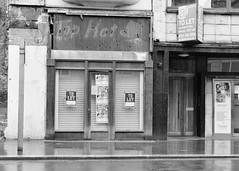 Top Hat (Stephen Whittaker) Tags: reflection wet rain liverpool blackwhite high nikon rainyday grain iso raining d5100 whitto27