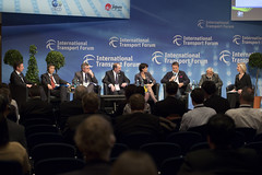 Panel members discuss trade facilitation issues