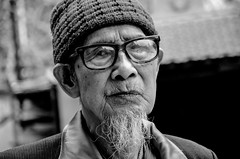 together (brendan ) Tags: portrait man love glass face beard nose glasses eyes time live lips vietnam together seeing trust hanoi loved chin learn blackandwhiteportrait manwithglasses vietnamhanoi rebelsab brendan hanoiman oldvietnameseman
