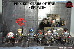 Gear Project Update (pecovam) Tags: brick war lego custom gears cog affliction silverback of pecovam