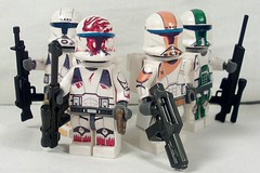 Delta Squad (Kyle Peckham) Tags: boss starwars republic lego sev commando scorch fixer republiccommando deltasquad