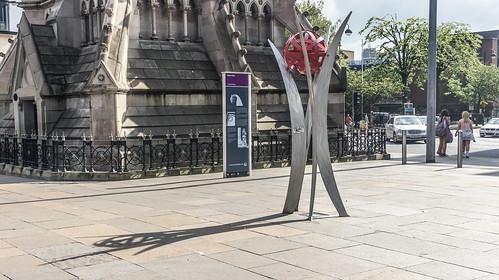 Ned Jackson Smyth's sculpture entitled 'Renewal'