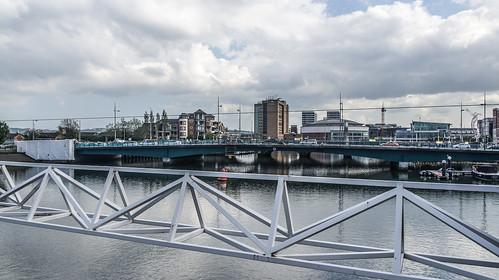 The Lagan Weir In Belfast