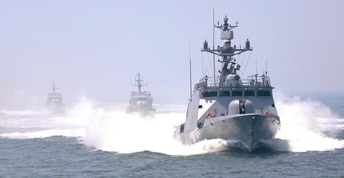 2009년6월15일 해군 윤영하함기동