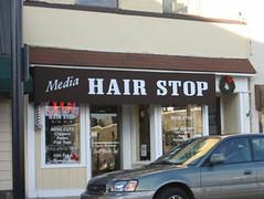 Awning - Media Hair Stop