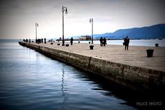 Molo Audace (Felice Cirulli) Tags: blue sea mare azzurro felice molo trieste giulia felixe audace friulivenezia