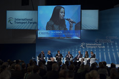 Vera Kobalia participates in the panel