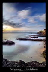 Cap Lahoussaye (Frog 974) Tags: mer canon soleil coucher ile cap 5d vague crpuscule plage hdr runion coucherdesoleil le ocan ledelarunion lahoussaye 5dmarkii
