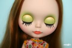 Larue's eyelids :)