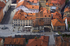Tilt Shift Ljubljana... (german_long) Tags: slovenia ljubljana eslovenia miniatura 2012 tiltshift