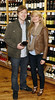 Evan Tanner and Martine Bondioli at the opening of Blackrock Cellar in Blackrock village