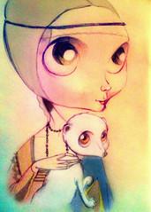 La dama con l'ermellino (Sketch)
