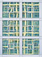 Astana - multiple reflections 2 (puss_in_boots) Tags: windows abstract architecture skyscraper reflections grand kazakhstan astana alatau