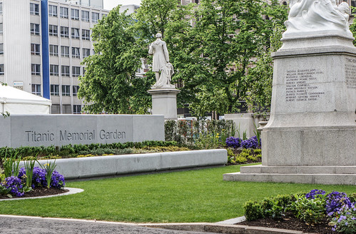 Belfast City Hall - May 2012 (Titanic Memorial Garden)