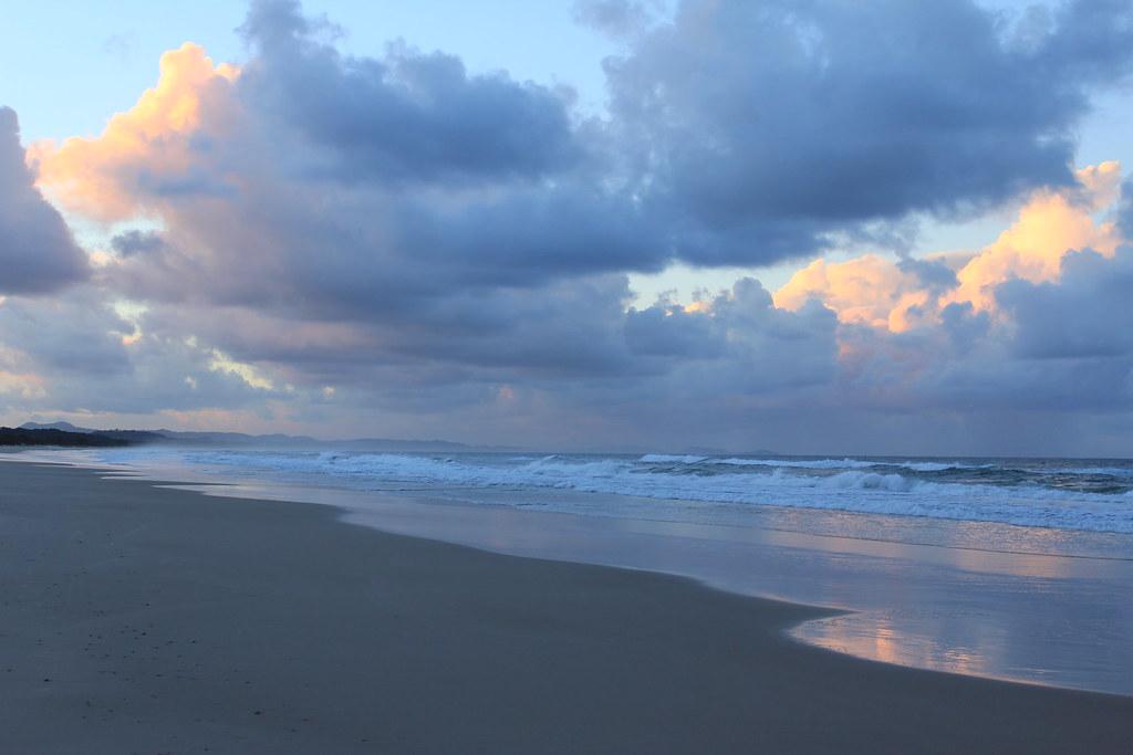 Tyagarah beach photos