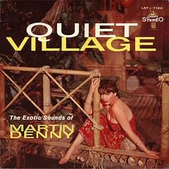 Quiet Village (StudioMONDO) Tags: 1950s hawaiian tiki exotica vintagevinyl vintagefashion