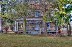 Old Stone House (podolux) Tags: trees house tree md nikon maryland 2012 stonehouse route17 washingtoncounty photomatix tonemapped tonemap md17 d5100 nikkordx1855vr marylandroute17 photomatixformac maryland17