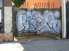 RESTA (oh'yea..BIG`TIME!) Tags: california graffiti oakland bay area 2012 resta