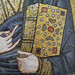 Merciful Christ (Icon), detail of Bible