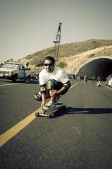 Dad is cool (Tj Cowboy) Tags: street people sport mexico nikon skateboarding may downhill skate longboard bajacalifornia tijuana playas 2012 d90 nikond90