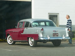 1955 Chevy Bel Air (Littlerailroader) Tags: cars 1955 car automobile massachusetts air newengland vehicles chevy vehicle wakefield oldcars bel classiccars automobiles vintagecars antiquecars chevybelair wakefieldmassachusetts
