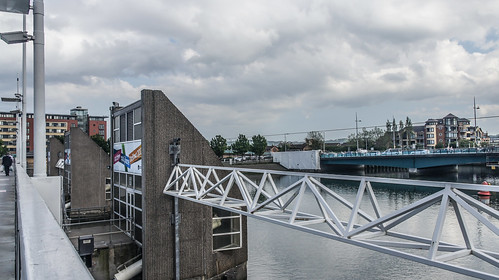 Streets Of Belfast - The Lagan Weir