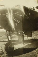 Tascher_00112 (San Diego Air & Space Museum Archives) Tags: williamtascher b25 mitchell sdsu 341stbombgroup 491st chattanoogachoochoo noseart usaaf worldwarii wwii ww2 secondworldwar aviation aircraft airplane militaryaviation bomber northamericanaviation northamerican naa northamericanb25mitchell northamericanb25 northamericanmitchell b25mitchell mitchellbomber wrightaeronautical wright wrightr2600twincyclone wrighttwincyclone wrightr2600 r2600 twincyclone