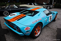 Heritage (Andrew Cragin Photography) Tags: auto italy cars ford beautiful beauty car race america canon eos rebel cool interesting automobile gulf connecticut rear fast ct best explore american gt expensive rare exclusive supercar fastest extraordinary v8 automobiles supercharged livery engined explored 200mph shutterspeedphotos